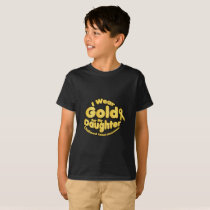 Gold For My Daughter Childhood Cancer Awareness T-Shirt