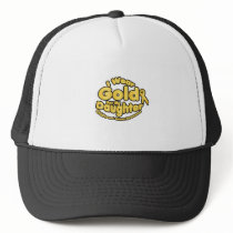 Gold For My Daughter Childhood Cancer Awareness Trucker Hat