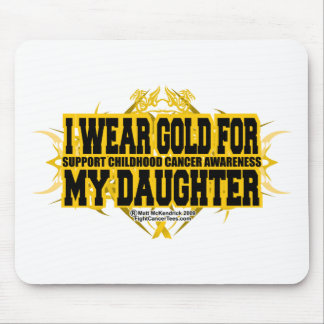 Gold for my Daughter Tribal Mouse Pad