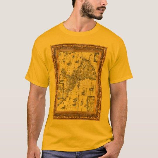 gold frame tshirt converted