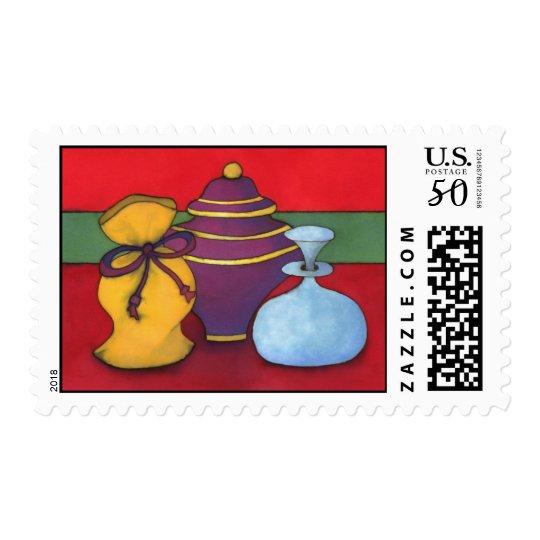 Gold, Frankincense & Myrrh US Postage