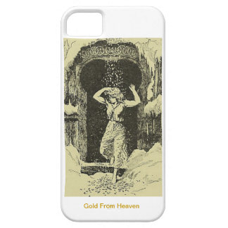 Gold From Heaven iPhone SE/5/5s Case
