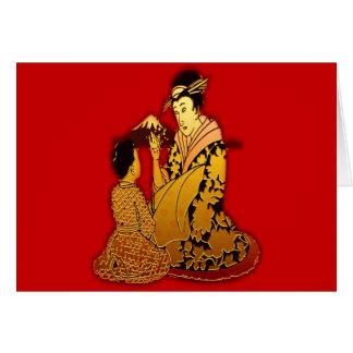 Gold Geisha Cards