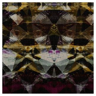 Gold & Gemstones Jewel Patterned Fabric