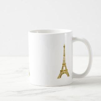 Gold Glam Eiffel Tower Coffee Mug
