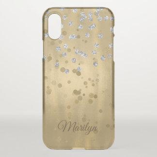 Gold Glam iPhone X Case
