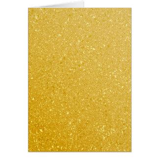 GOLD GLITTER BACKGROUND CARD