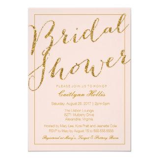 Pink bridal shower invitations gangcraft blush bridal shower invitations announcements zazzle bridal shower invitations filmwisefo Images