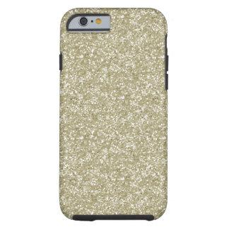 Gold Glitter Tough iPhone 6 Case