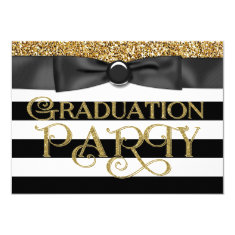 Bztees2go class of 2015 graduation party invitations gold glitter class of 2015 graduation 45x625 paper invitation card filmwisefo