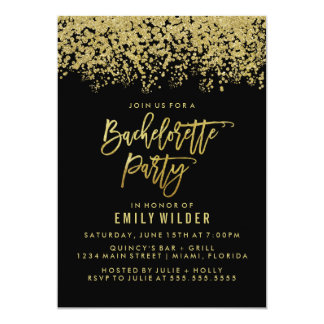 bachelorette party invitations & announcements | zazzle, Party invitations