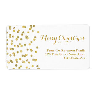 christmas labels christmas address labels zazzle