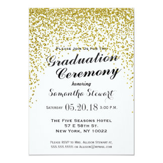 Graduation Ceremony Invitations & Announcements | Zazzle