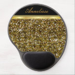 """Gold Glitter Confetti Print Gel Mouse Pad<br><div class=""""desc"""">Mouse Pad. Gold Confetti Print. (This is not actual glitter, it is a print). 100% Customizable. Ready to Fill in the box(es) or Click on the CUSTOMIZE button to add, move, delete or change any of the text or graphics. Made with high resolution vector and/or digital graphics for a professional...</div>"""