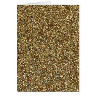 GOLD GLITTER ~ for Holidays or Every Day! Card