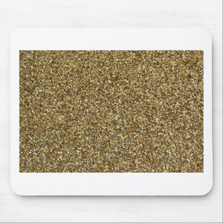 GOLD GLITTER for Holidays or Every Day Mousepad
