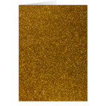 Gold Glitter Greeting Cards