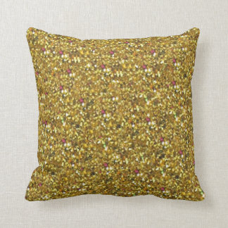 Gold Glitter Holiday American MoJo Pillows