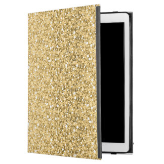 "Gold Glitter iPad Pro 12.9"" Case"