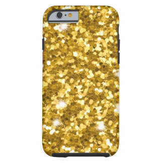 Gold Glitter iPhone 6/6S Tough Case