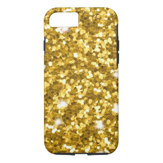 Gold Glitter iPhone 7 Tough Case