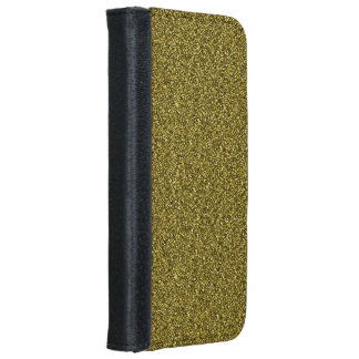 Gold Glitter iPhone 8/7 Wallet Case