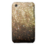 Gold Glitter iPhone Christmas Case Iphone 3 Cover