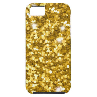 Gold Glitter iPhone SE/5/5S Tough Case