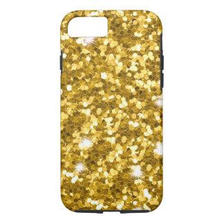 Gold Glitter iPhone X/8/7 Tough Case