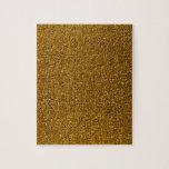 """Gold Glitter Jigsaw Puzzle<br><div class=""""desc"""">Photo of gold glitter</div>"""