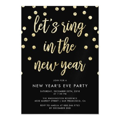 pink ring in the new year script new year party magnetic invitation zazzlecom