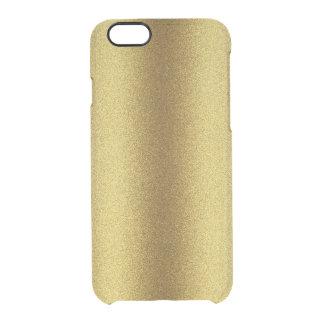 Gold Glitter Look iPhone 6 Deflector Case