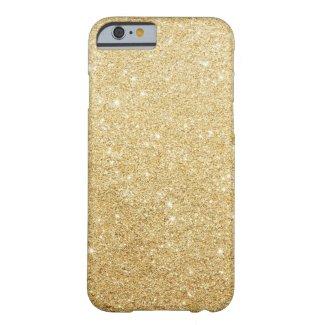 Gold Glitter Luxury iPhone 6 Case