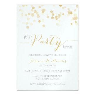Gold Glitter Metallic Sample Card