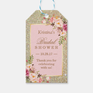 Gift tags favor tags zazzle What do you give at a bridal shower
