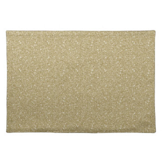 Gold Glitter Placemat