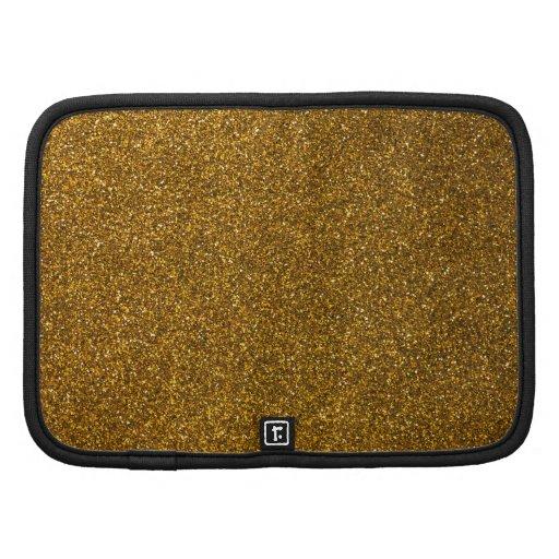 Gold Glitter Planner