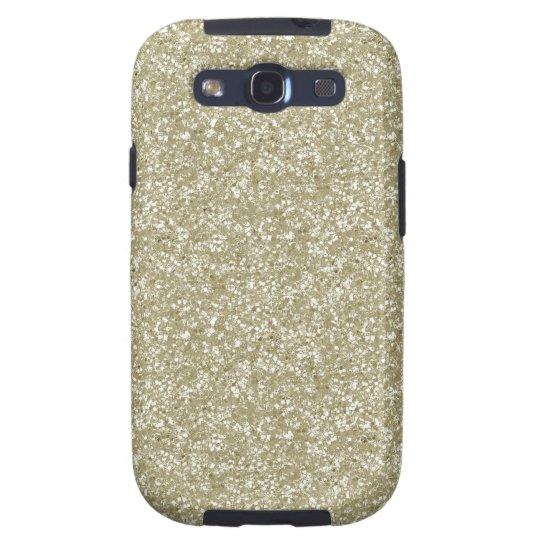 Gold Glitter Samsung Galaxy S3 Cover