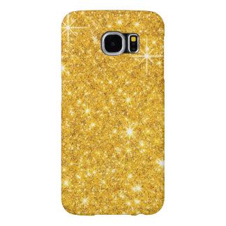 Gold Glitter Samsung Galaxy S6 Case