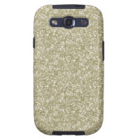 Gold Glitter Samsung Galaxy SIII Cover