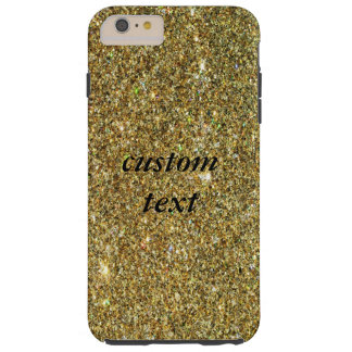 Gold Glitter Sparkle Glamour iPhone 6 Tough Case