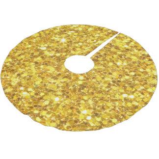 Gold Glitter Tree Skirt