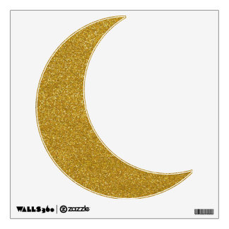 Gold Glitter Wall Sticker