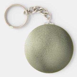 Gold Globe Keychain
