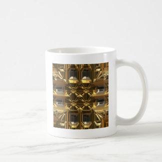 Gold glossy design coffee mug