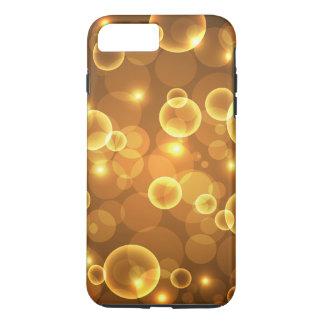 Gold Golden Bubble Light Art iPhone 8 Plus/7 Plus Case