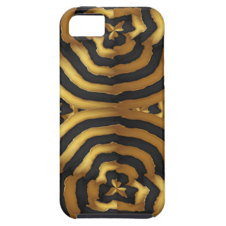 Gold Golden wave abstract art on shirts n POD gift iPhone SE/5/5s Case