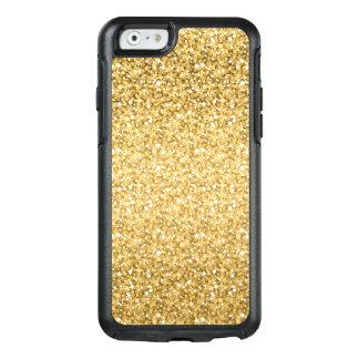 Gold Gradient Glitter Pattern OtterBox iPhone 6/6s Case