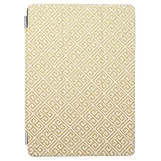 Gold Greek Key Pattern iPad Air Case