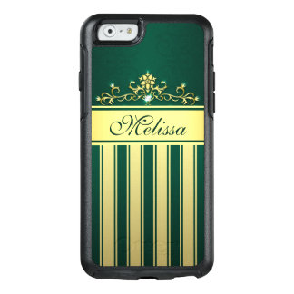 Gold Green Gold Vintage OtterBox iPhone 6/6s Case